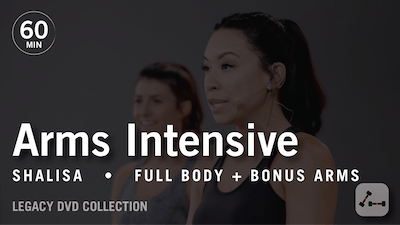 60 Min Intensive with Shalisa: Arms  |  Legacy DVD Collection by Pure Barre On Demand