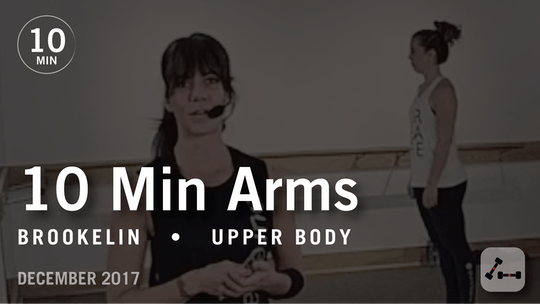 Instant Access to Tone in 10 with Brookelin: Arms  |  December 2017 by Pure Barre On Demand, powered by Intelivideo