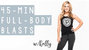 Instant Access to 45 Min Full Body Blasts with Holly by Pure Barre On Demand, powered by Intelivideo