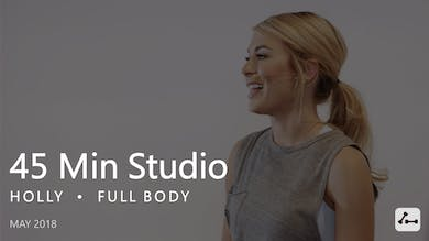 45 Min Studio with Holly  |  May by Pure Barre On Demand