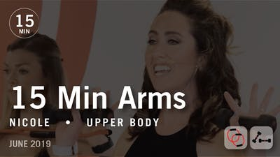 15 Min Arms with Nicole  |  June 2019 by Pure Barre On Demand
