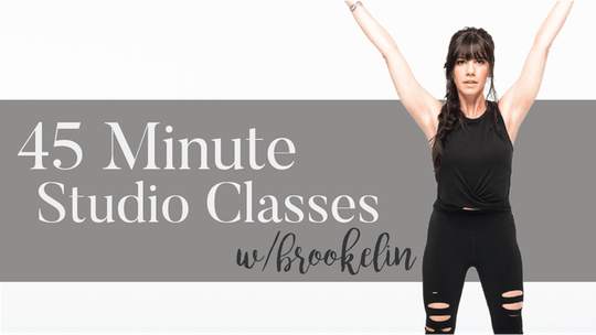 45 Min Studio Classes with Brookelin by Pure Barre On Demand