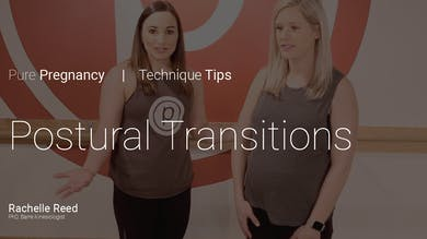 Pregnancy Technique Tips: Postural Transitions by Pure Barre On Demand