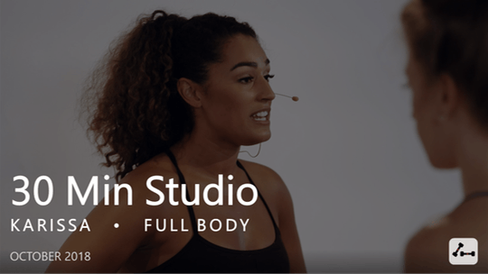 Instant Access to 30 Min Studio with Karissa  |  October by Pure Barre On Demand, powered by Intelivideo