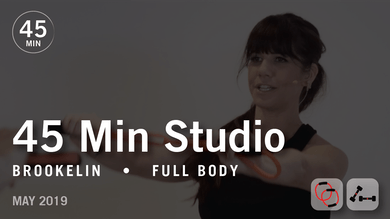 45 Min Studio with Brookelin: Full Body | May 2019 by Pure Barre On Demand
