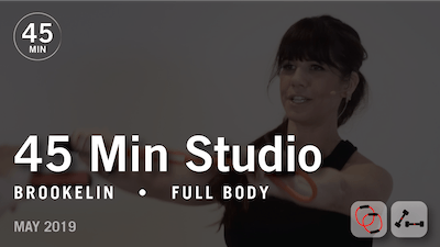 Instant Access to 45 Min Studio with Brookelin: Full Body | May 2019 by Pure Barre On Demand, powered by Intelivideo