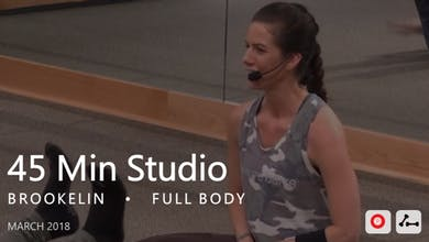45 Min Studio with Brookelin  |  March by Pure Barre On Demand