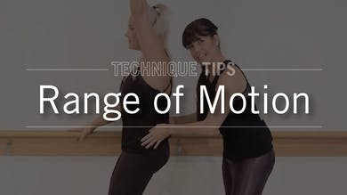 Technique Tips: Range of Motion by Pure Barre On Demand