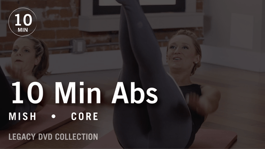 Instant Access to Tone in 10 with Mish: Abs 2  |  Legacy DVD Collection by Pure Barre On Demand, powered by Intelivideo