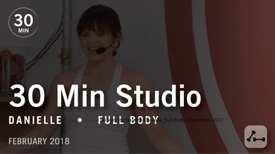 30 Min Studio with Danielle: Full Body  |  February 2018 by Pure Barre On Demand