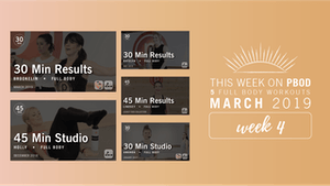 Instant Access to March 2019  |  Week 4 by Pure Barre On Demand, powered by Intelivideo
