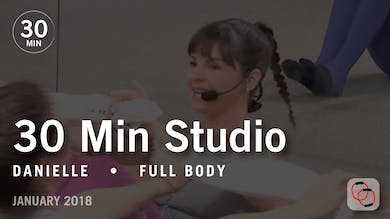 30 Min Studio with Danielle: Full Body  |  January 2018 by Pure Barre On Demand
