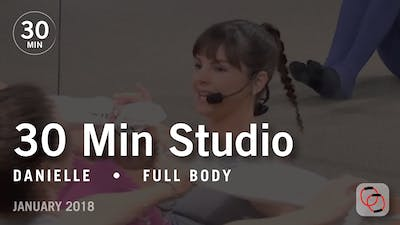 Instant Access to 30 Min Studio with Danielle: Full Body  |  January 2018 by Pure Barre On Demand, powered by Intelivideo