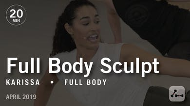 Sculpt in 20 with Karissa: Full Body  |  April 2019 by Pure Barre On Demand