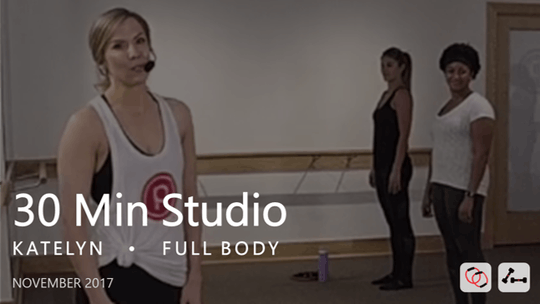 Instant Access to 30 Min Studio with Katelyn  |  November by Pure Barre On Demand, powered by Intelivideo