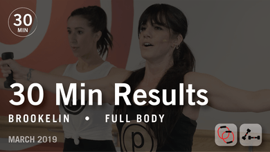 30 Min Results with Brookelin: Full Body | March 2019 by Pure Barre On Demand