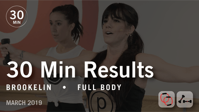 Instant Access to 30 Min Results with Brookelin: Full Body | March 2019 by Pure Barre On Demand, powered by Intelivideo