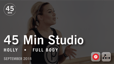 45 Min Studio with Holly: Full Body  |  September 2018 by Pure Barre On Demand