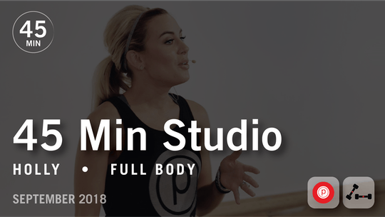Instant Access to 45 Min Studio with Holly: Full Body  |  September 2018 by Pure Barre On Demand, powered by Intelivideo