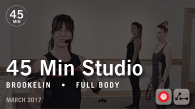 45 Min Studio with Brookelin: Full Body  |  March 2017 by Pure Barre On Demand