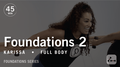 Foundations 2 with Karissa by Pure Barre On Demand