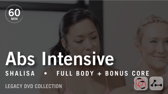 Instant Access to 60 Min Intensive with Shalisa: Abs  |  Legacy DVD Collection by Pure Barre On Demand, powered by Intelivideo