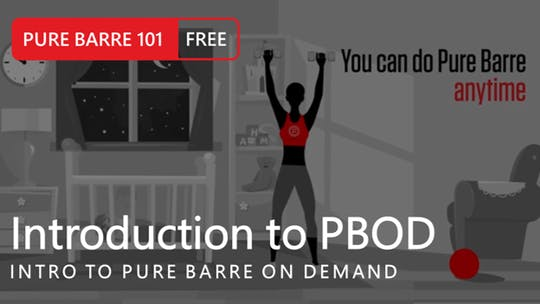 Instant Access to Intro to Pure Barre On Demand by Pure Barre On Demand, powered by Intelivideo