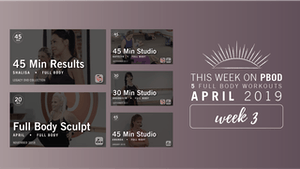Instant Access to April 2019  |  Week 3 by Pure Barre On Demand, powered by Intelivideo