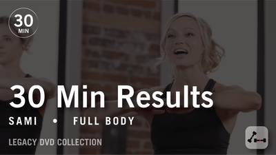 30 Min Results with Sami: Full Body #2  |  Legacy DVD Collection by Pure Barre On Demand