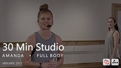 30 Min Studio with Amanda  |  January by Pure Barre On Demand