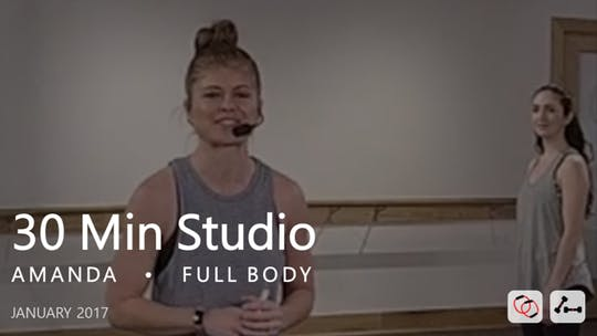 Instant Access to 30 Min Studio with Amanda  |  January by Pure Barre On Demand, powered by Intelivideo