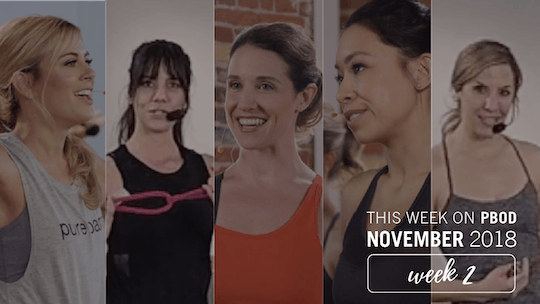 November  |  Week 2 by Pure Barre On Demand, powered by Intelivideo