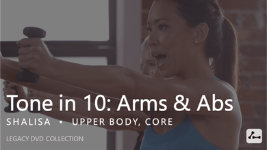 Tone in 10: Arms & Abs by Pure Barre On Demand