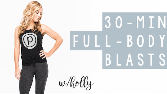 30 Min Full Body Blasts with Holly by Pure Barre On Demand