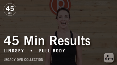 45 Min Results with Lindsey: Full Body  |  Legacy DVD Collection by Pure Barre On Demand