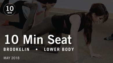 Tone in 10 with Brookelin: Seat |  May 2018 by Pure Barre On Demand