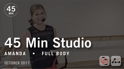 45 Min Studio with Amanda: Full Body  |  October 2017 by Pure Barre On Demand
