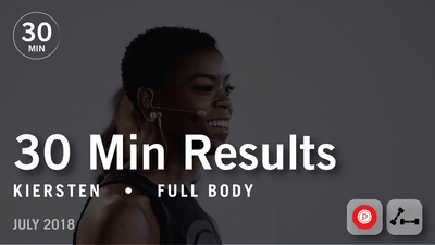 30 Min Results with Kiersten: Full Body  |  July 2018 by Pure Barre On Demand