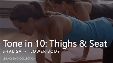 Tone in 10: Thighs & Seat by Pure Barre On Demand