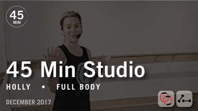 Instant Access to 45 Min Studio with Holly: Full Body  |  December 2017 by Pure Barre On Demand, powered by Intelivideo