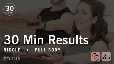 Instant Access to 30 Min Results with Nicole: Full Body  |  May 2019 by Pure Barre On Demand, powered by Intelivideo