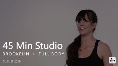 45 Min Studio with Brookelin  |  August by Pure Barre On Demand