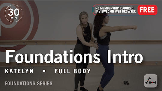 Instant Access to Foundations Intro by Pure Barre On Demand, powered by Intelivideo