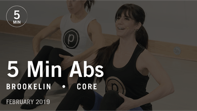 Instant Access to 5 Min Abs with Brookelin: Core  |  February 2019 by Pure Barre On Demand, powered by Intelivideo