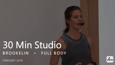 30 Min Studio with Brookelin  |  February by Pure Barre On Demand