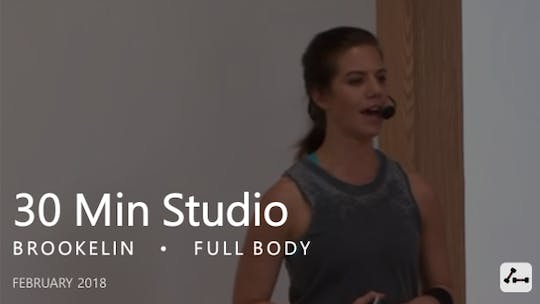 Instant Access to 30 Min Studio with Brookelin  |  February by Pure Barre On Demand, powered by Intelivideo