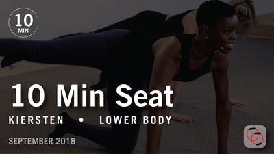 Instant Access to Tone in 10 with Kiersten: Seat  |  September 2018 by Pure Barre On Demand, powered by Intelivideo