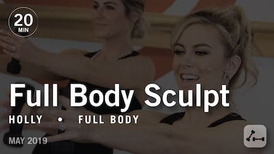Sculpt in 20 with Holly: Full Body  |  May 2019 by Pure Barre On Demand