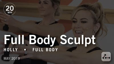 Instant Access to Sculpt in 20 with Holly: Full Body  |  May 2019 by Pure Barre On Demand, powered by Intelivideo
