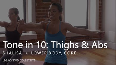 Tone in 10: Thighs & Abs by Pure Barre On Demand